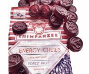 Chimpanzee Energy Chews Fruchtgummis Waldfrucht- 30g Beutel